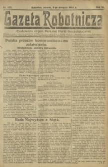 Gazeta Robotnicza, 1921, R. 26, nr 177