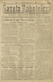 Gazeta Robotnicza, 1921, R. 26, nr 188