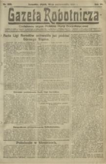 Gazeta Robotnicza, 1921, R. 26, nr 233