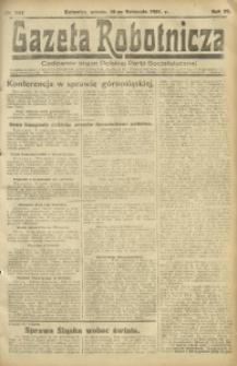 Gazeta Robotnicza, 1921, R. 26, nr 257