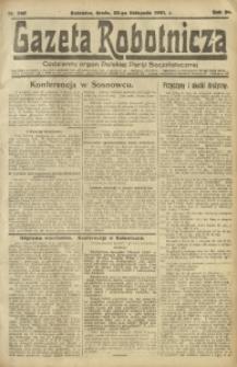 Gazeta Robotnicza, 1921, R. 26, nr 265