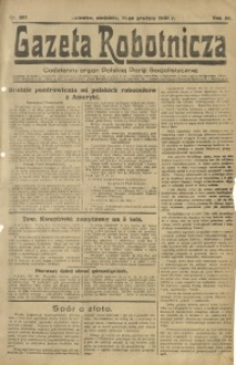 Gazeta Robotnicza, 1921, R. 26, nr 281