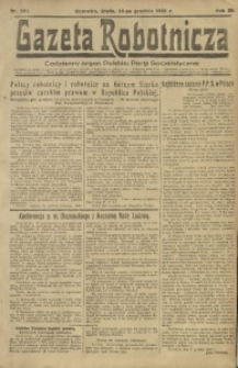 Gazeta Robotnicza, 1921, R. 26, nr 283