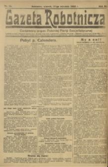 Gazeta Robotnicza, 1922, R. 27, nr 13