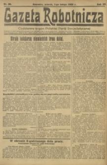 Gazeta Robotnicza, 1922, R. 27, nr 30