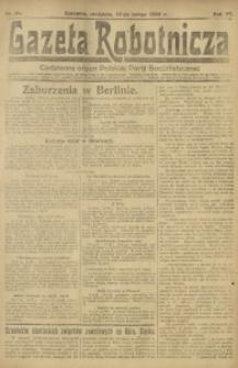 Gazeta Robotnicza, 1922, R. 27, nr 35