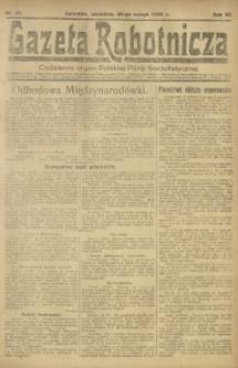 Gazeta Robotnicza, 1922, R. 27, nr 47