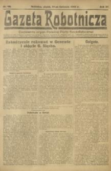 Gazeta Robotnicza, 1922, R. 27, nr 90