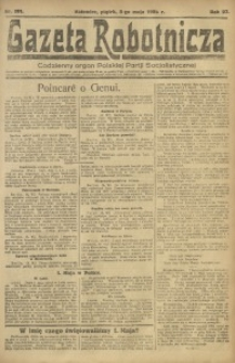Gazeta Robotnicza, 1922, R. 27, nr 101