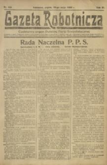 Gazeta Robotnicza, 1922, R. 27, nr 113