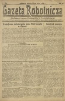 Gazeta Robotnicza, 1922, R. 27, nr 114