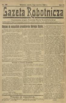 Gazeta Robotnicza, 1922, R. 27, nr 125