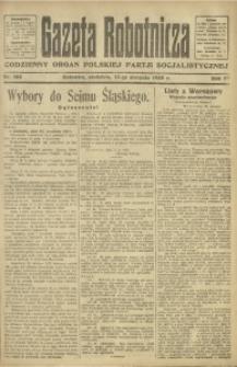 Gazeta Robotnicza, 1922, R. 27, nr 182