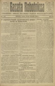 Gazeta Robotnicza, 1922, R. 27, nr 192