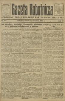 Gazeta Robotnicza, 1922, R. 27, nr 198