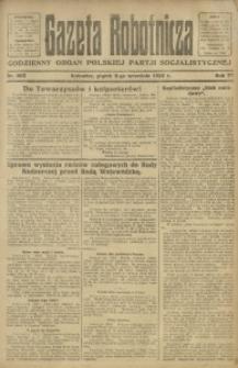 Gazeta Robotnicza, 1922, R. 27, nr 203