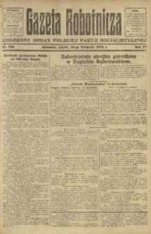 Gazeta Robotnicza, 1922, R. 27, nr 256