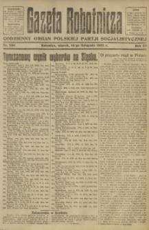 Gazeta Robotnicza, 1922, R. 27, nr 259