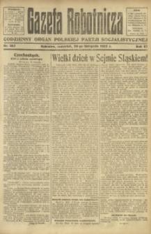 Gazeta Robotnicza, 1922, R. 27, nr 267