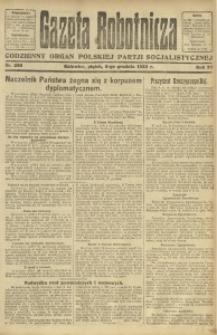 Gazeta Robotnicza, 1922, R. 27, nr 280
