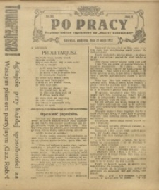 Po Pracy, 1922, R. 7, nr 22
