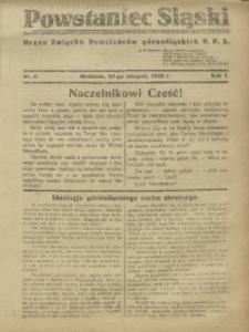 Powstaniec Śląski, 1922, R. 1, nr 2