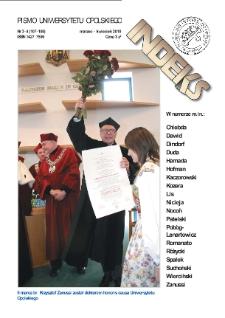 Indeks : pismo Uniwersytetu Opolskiego. 2010, nr 3-4 (107-108)