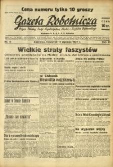 Gazeta Robotnicza, 1937, R. 41, nr 12