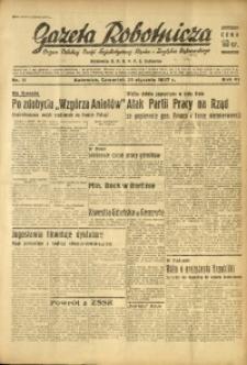 Gazeta Robotnicza, 1937, R. 41, nr 18