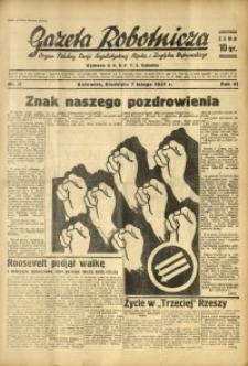 Gazeta Robotnicza, 1937, R. 41, nr 35