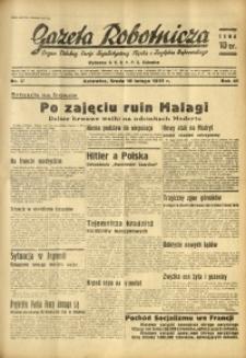 Gazeta Robotnicza, 1937, R. 41, nr 37