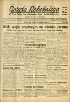 Gazeta Robotnicza, 1937, R. 41, nr 47