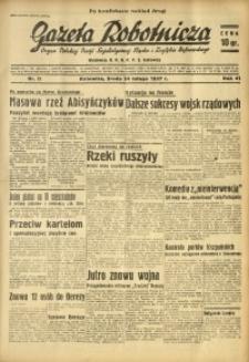 Gazeta Robotnicza, 1937, R. 41, nr 52