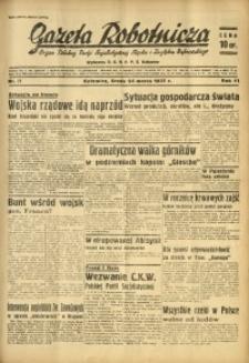 Gazeta Robotnicza, 1937, R. 41, nr 77