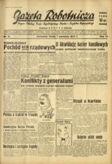Gazeta Robotnicza, 1937, R. 41, nr 89