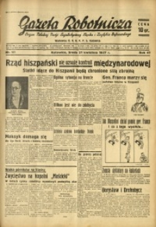 Gazeta Robotnicza, 1937, R. 41, nr 101