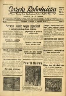 Gazeta Robotnicza, 1937, R. 41, nr 207