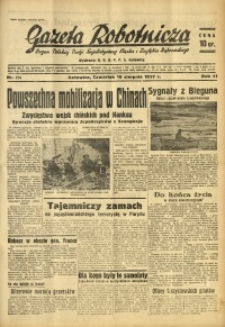 Gazeta Robotnicza, 1937, R. 41, nr 214