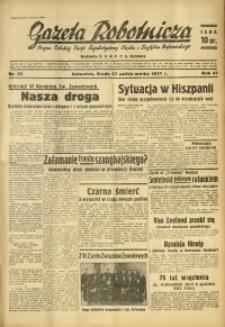 Gazeta Robotnicza, 1937, R. 41, nr 282