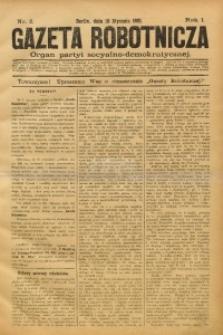 Gazeta Robotnicza, 1891, R. 1, nr 2