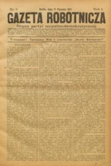 Gazeta Robotnicza, 1891, R. 1, nr 3
