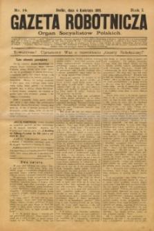 Gazeta Robotnicza, 1891, R. 1, nr 14