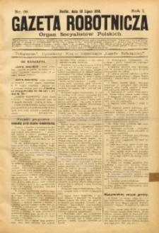 Gazeta Robotnicza, 1891, R. 1, nr 29