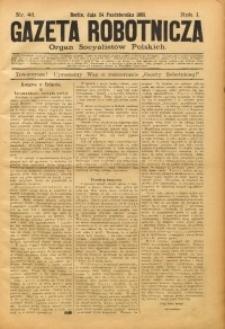 Gazeta Robotnicza, 1891, R. 1, nr 43