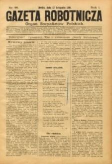 Gazeta Robotnicza, 1891, R. 1, nr 46