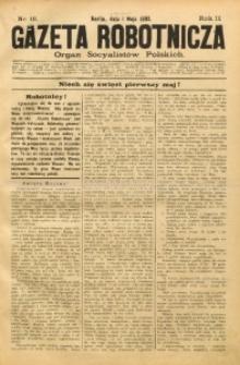 Gazeta Robotnicza, 1892, R. 2, nr 18