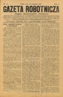 Gazeta Robotnicza, 1892, R. 2, nr 47
