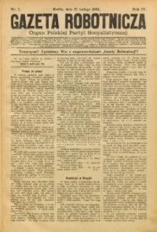 Gazeta Robotnicza, 1894, R. 4, nr 7