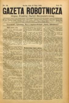 Gazeta Robotnicza, 1894, R. 4, nr 20