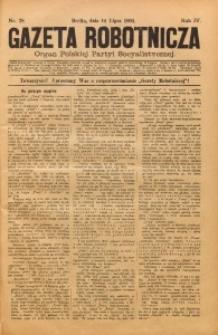 Gazeta Robotnicza, 1894, R. 4, nr 28